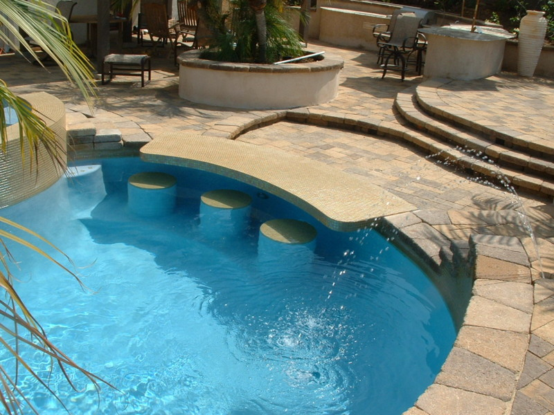 pool designs with swim up bar. Swim Up Bar Pool Designs With