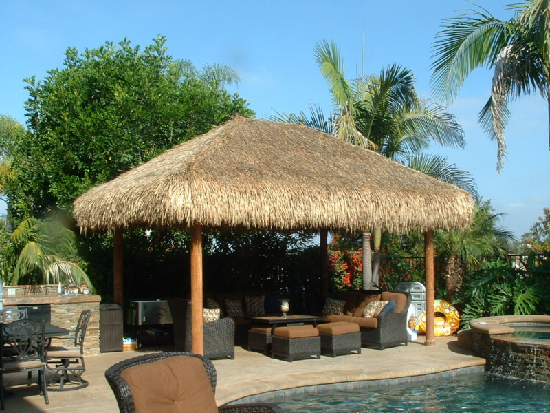 Outdoor Entertainment Area With Palapa San Diego