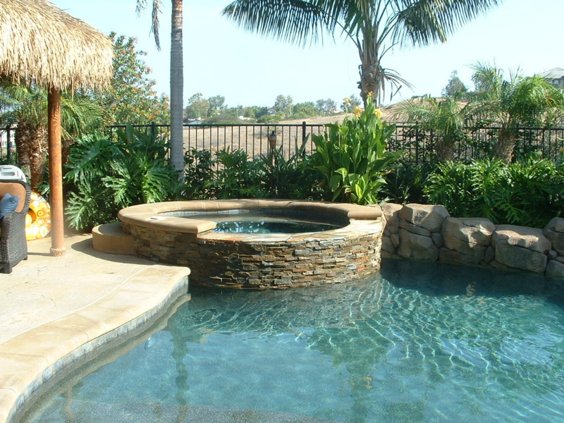 Stacked Quartz Spa With Spill Wall San Diego Swimming Pool Builders San Diego Dream Pools