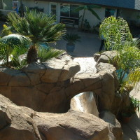 Artificial Rock with pocket planter