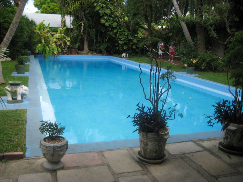 No I Didn 39 T Build Ernest Hemingway 39 S Swimming Pool In Key West Florida San Diego Swimming