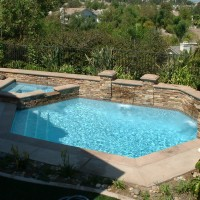 Special Pool Spa Features San Diego Swimming Pool