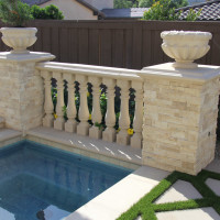 Creating ambiance and privacy in an open environment with elegance.