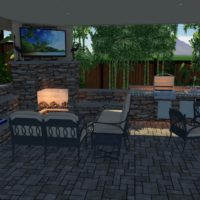 We can design your Dream outdoor area also.